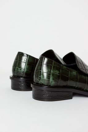 e7431cc9f90 Dries Van Noten Loafer Square Toe Casual Style Other Animal Patterns  Leather 5 ...
