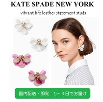 kate spade new york Flower Leather Party Style Earrings & Piercings