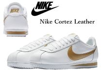 Nike CORTEZ Rubber Sole Casual Style Street Style Plain Leather