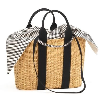 2WAY Handmade Straw Bags