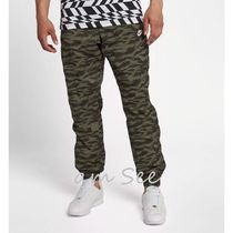 Nike Printed Pants Leopard Patterns Street Style Plain