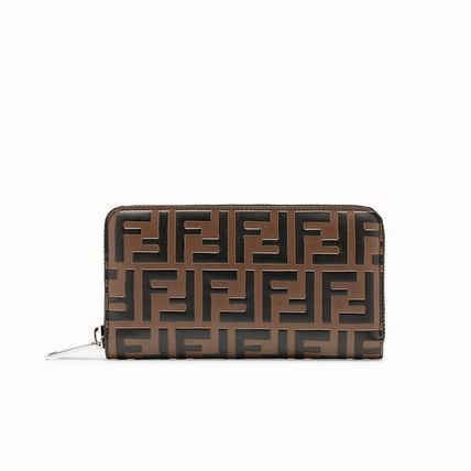 Monogram Calfskin Long Wallet  Long Wallets