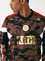 KITH NYC Crew Neck Camouflage Street Style Collaboration