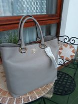 PRADA 3WAY Plain Leather Totes