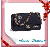 CHANEL MATELASSE Blended Fabrics 2WAY Party Style Shoulder Bags