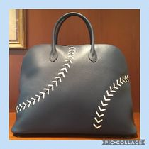 HERMES Bolide Leather Bags