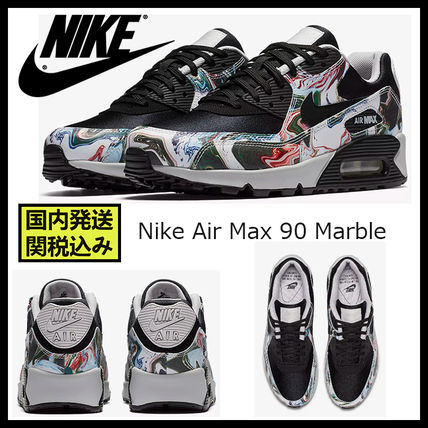 Casual Style Unisex Street Style Low-Top Sneakers  AIR MAX 90    2018-19AW   058e04803
