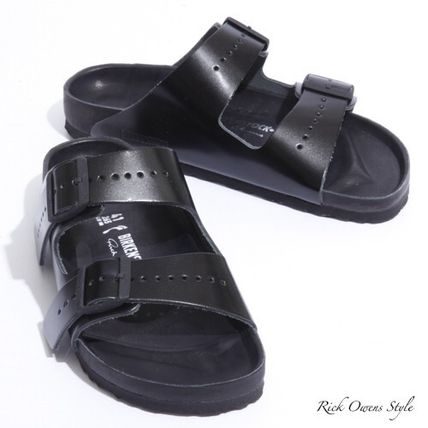 Collaboration Leather Sandals