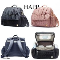 HAPP Casual Style Nylon 2WAY Plain Bags