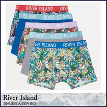 River Island Tropical Patterns Street Style Cotton Trunks & Boxers