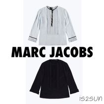 MARC JACOBS Casual Style Silk Cropped Plain Medium Shirts & Blouses