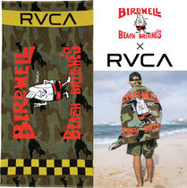 RVCA Camouflage Street Style Collaboration Beachwear