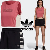 adidas Casual Style Street Style Cotton Medium