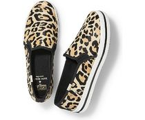 kate spade new york Leopard Patterns Round Toe Casual Style Collaboration