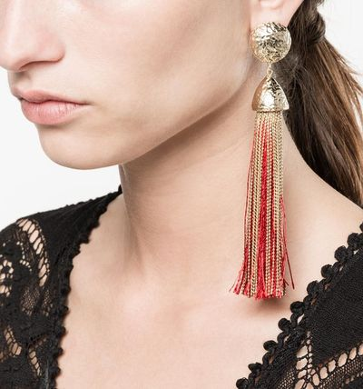 Costume Jewelry Blended Fabrics Tassel Party Style