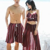 Stripes Unisex Bold Beachwear