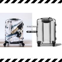 Off-White Collaboration 1-3 Days Hard Type TSA Lock Carry-on