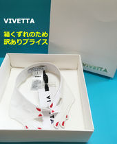 VIVETTA Plain Cotton Party Style Detachable Collars