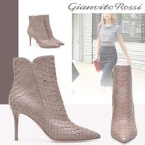 Gianvito Rossi Plain Pin Heels High Heel Boots