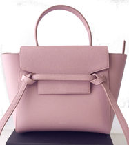 CELINE Belt 2WAY Leather Shoulder Bags