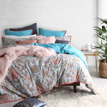Flower Patterns Comforter Covers Geometric Patterns