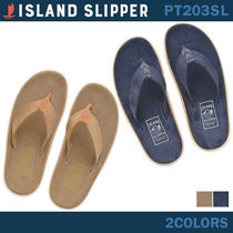 Island Slipper Suede Plain Sport Sandals Sports Sandals