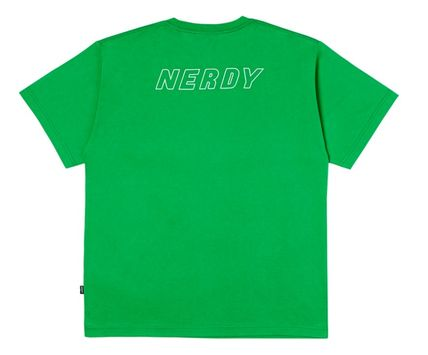 NERDY More T-Shirts Unisex Street Style Cotton Short Sleeves T-Shirts 13