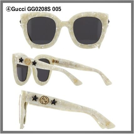 4590430af1 GUCCI Unisex Square Sunglasses by Citrusjunos - BUYMA