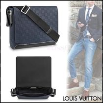 Louis Vuitton DAMIER INFINI Other Check Patterns Blended Fabrics Street Style 2WAY