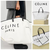 CELINE Casual Style Calfskin A4 Totes