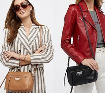 MIMCO Casual Style Plain Leather Shoulder Bags