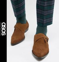 ASOS Monk Suede Loafers & Slip-ons