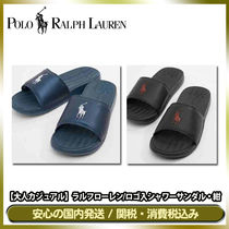POLO RALPH LAUREN Unisex Street Style Plain Shower Shoes Shower Sandals