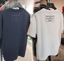 BALENCIAGA BALENCIAGA  Cotton Short Sleeves T-Shirts U-Neck
