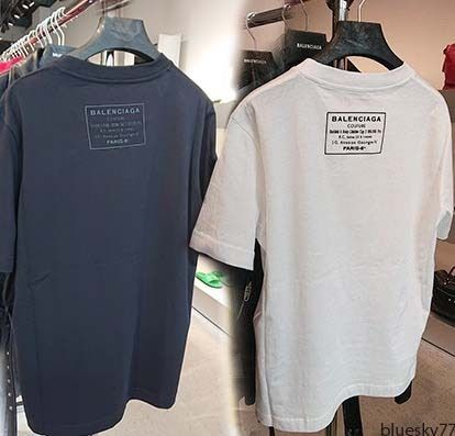 6776d318e BALENCIAGA Men's T-Shirts: Shop Online in US | BUYMA