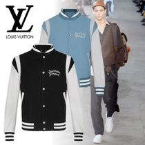 Louis Vuitton Short Leather Varsity Jackets