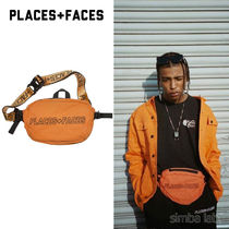 PLACES+FACES Nylon Street Style Hip Packs