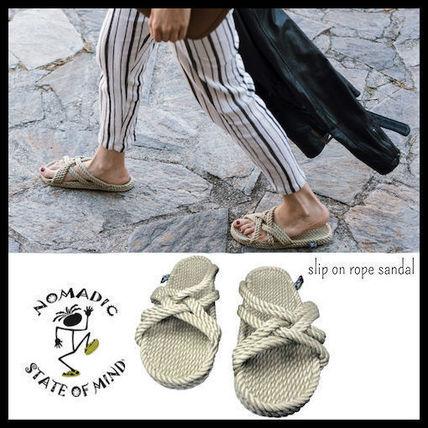 Open Toe Casual Style Unisex Slippers Heeled Sandals