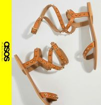 ASOS Casual Style Studded Leather Sandals
