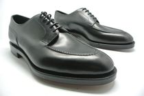 Edward Green Leather U Tips Oxfords