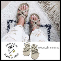 NOMADIC STATE OF MIND Open Toe Casual Style Unisex Slippers Sandals