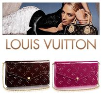 Louis Vuitton 2WAY Chain Leather Party Style Tribal Party Bags
