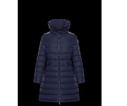 MONCLER Down Jackets Plain Medium Down Jackets