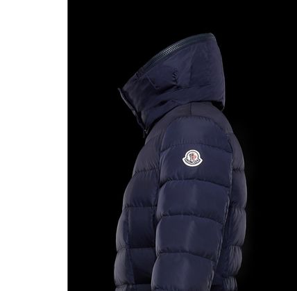 MONCLER Down Jackets Plain Medium Down Jackets 5