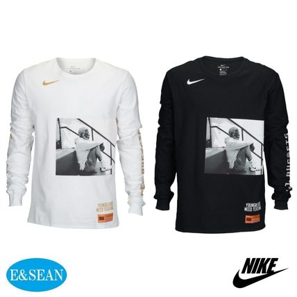 5261a60180e8 Nike 2018 SS Crew Neck Street Style Long Sleeves Plain Cotton by ...