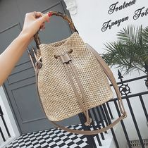 2WAY Purses Straw Bags