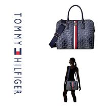 Tommy Hilfiger Monoglam Nylon A4 2WAY Business & Briefcases