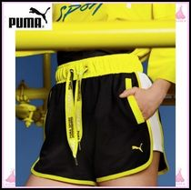 PUMA Short Cotton Denim & Cotton Shorts