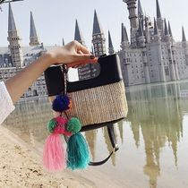 Tassel 2WAY Straw Bags