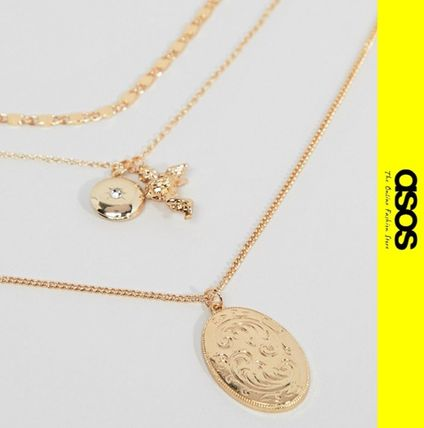 Casual Style Chain Necklaces & Pendants